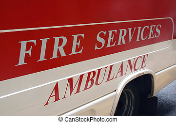 Ambulance - Fire services - ambulance