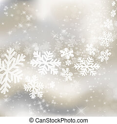 Xmas background. Abstract winter design with stars and...