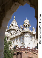 Jaswant Thada Cenotaph - Jodhpur - India - Jaswant Thada -...