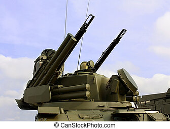 Weapons of anti-aircraft defense - Self-propelled...