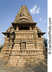 Khajuraho - Madhya Pradesh - India - Kandariya Mahadev Hindu...