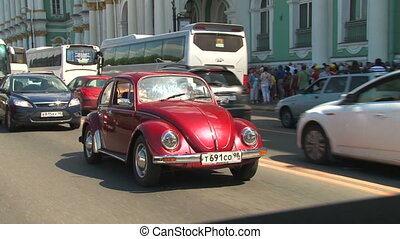Driver and vehicle beetle