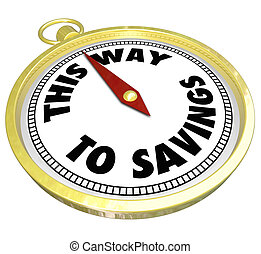 This Way to Savings Compass Sale Clearance Blowout - The...