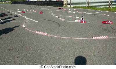 Racing RC cars