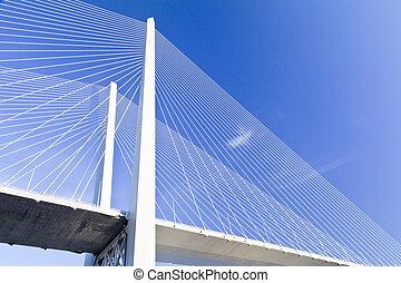 Most, zawieszenie, Cielna