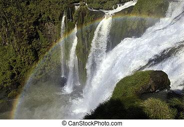 Iguassu Falls - Iguazu Falls, Iguassu Falls or Iguacu Falls...