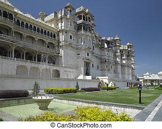 Udaipur - City Palace - India - City Palace (Rajya Angan...