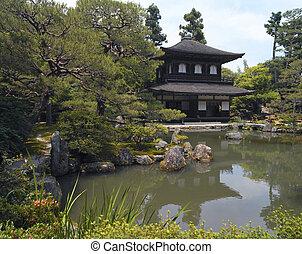 Ginkakuji - Kyoto - Japan - Ginkaku-ji or the Temple of the...