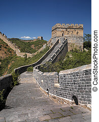 Great Wall of China - The Great Wall of China at Jinshanling...