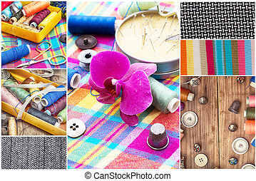 collage tools for sewing