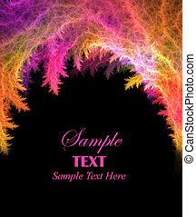Vibrant Abstract Background with Copy Space