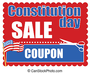 Sale Coupon - Constitution Day