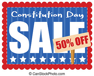 Constitution Day - Sale Coupon