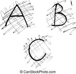 Alphabet letters 1