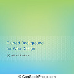 Elegant green blurred background for web design - Green...