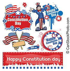 Constitution Day Designs - Drawing Art of America's...