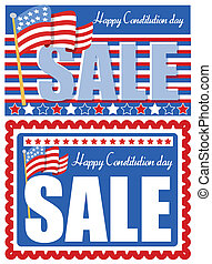 Sale Backgrounds Constitution Day