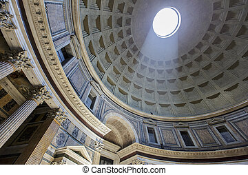Pantheon in Rome, Italy 16.07.2013