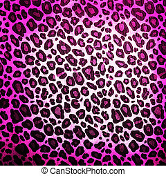 Leopard pattern background or texture close up