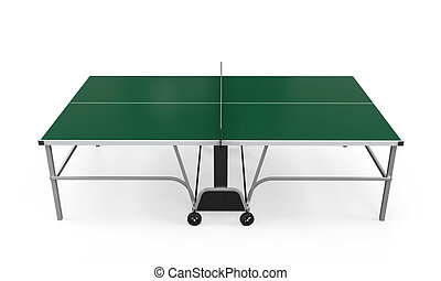 Green Table Tennis