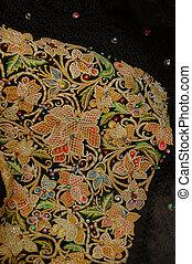 bridal veil - traditional dress Sardinian