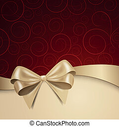 Vector Background - Vector Illustration of a Christmas...