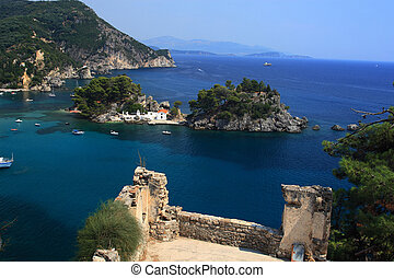 Parga Greece - The village of Parga in Epirus Greece