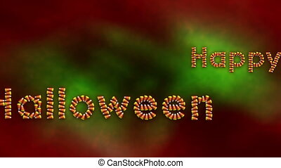 Happy Halloween Background One - Happy Halloween Looping...