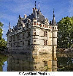 Azay le Rideau - Loire Valley - France - Azay le Rideau...