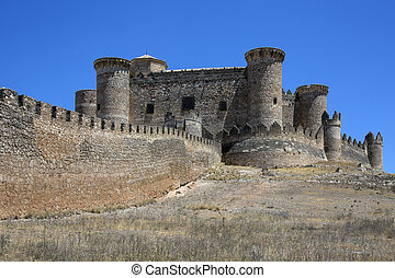 Belmonte Castle - La Mancha - Spain - The riuns of Belmonte...