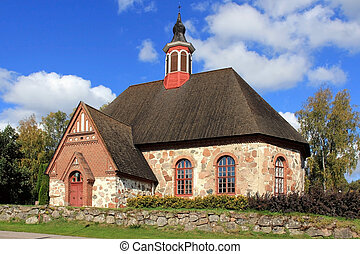 Historic Renko Church, Finland - Late Medieval Renko Church,...