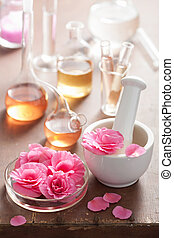 aromatherapy, Alquimia, rosa, flores