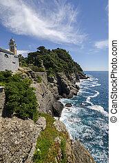 promontório,  Portofino