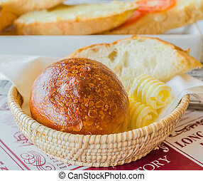 Bread in the basket