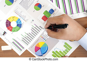 Profit - Stock Image - Business Chart Data Analyzing - Stock...
