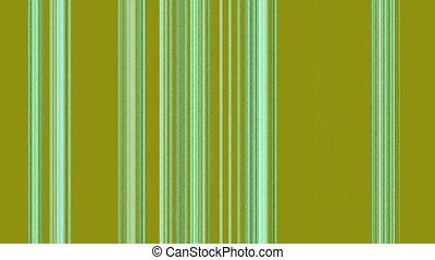 Vertical White Green Lines on Marsh, Seamless Loop Animated...