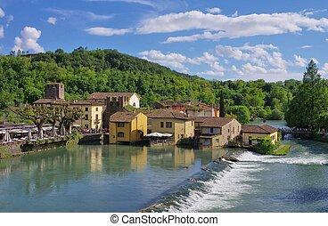 Borghetto water mills