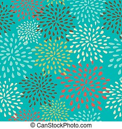 Vintage Christmas elements, abstract snowflakes seamless pattern background. EPS10 vector file organized in layers for easy editing.