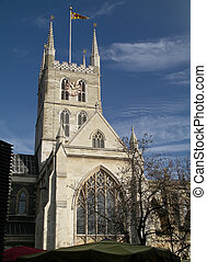 Southwark Cathedral - A view of Southwark Cathedral from...