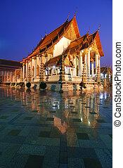 Wat Suthat,Bangkok, Thailand - Wat Suthat temple,Bangkok,...