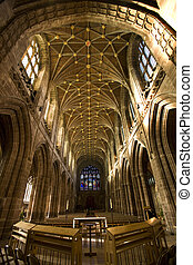 Chester Cathedral - England - Chester Cathedral in Cheshire...