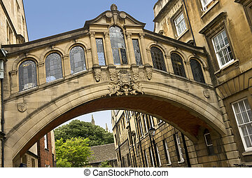 Bridge of Sighs - Oxford - England - The Bridge of Sighs...