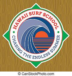 Classic Surf Logo Design