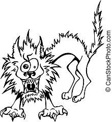 ruffled cat