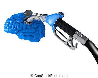 Gasoline in the brain