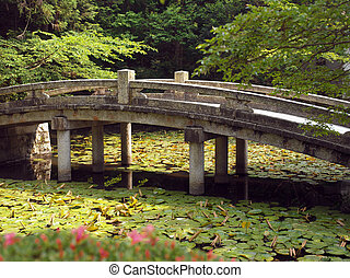 Bridge at Chion-in Temple - Kyoto - Japan - Bridge at...