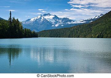 Lava Lake - Lake in Nisga'a Provincial Park, British...