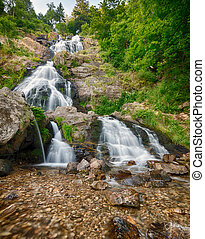 Todtnauer Waterfalls, Black Forest, Germany