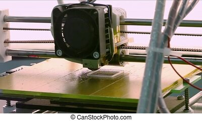 3D Printing - Printing with Plastic Wire Filament
