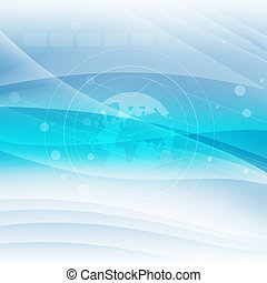 Technology Abstract Background